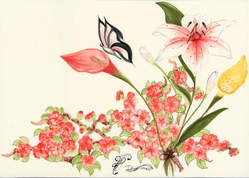 Décor fleurs champêtre