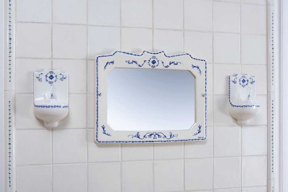 Collection 1900 : miroir, luminaire