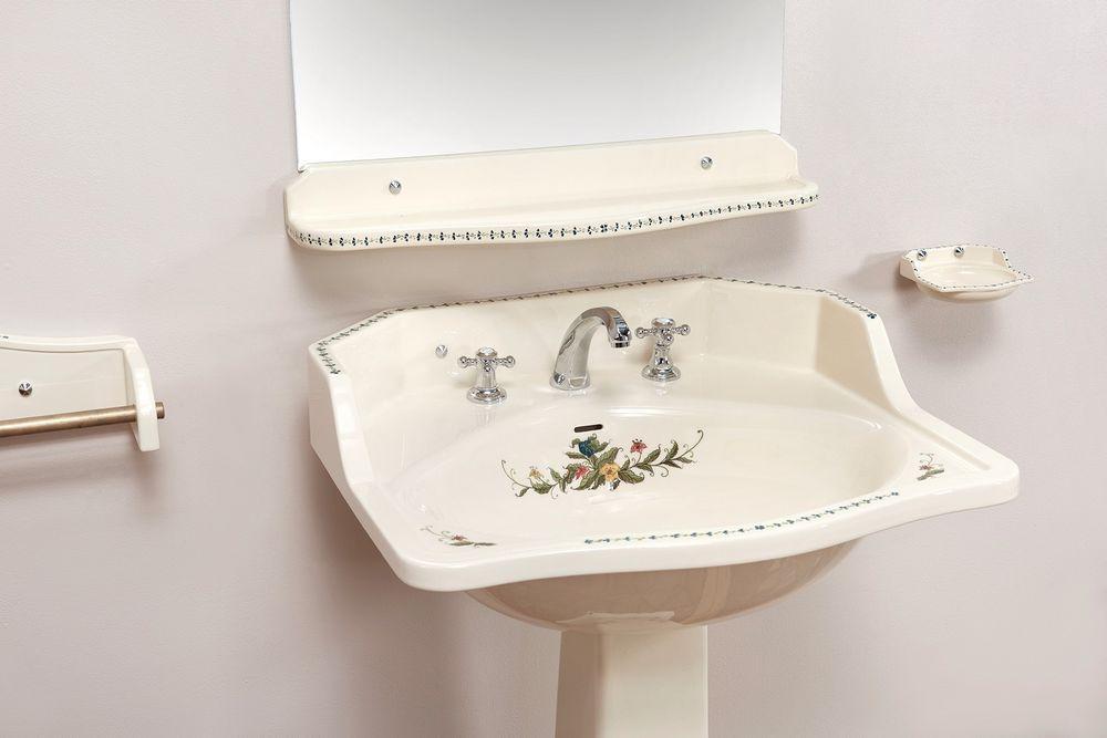 Collection Camargue : vasque, étagère, porte-savon