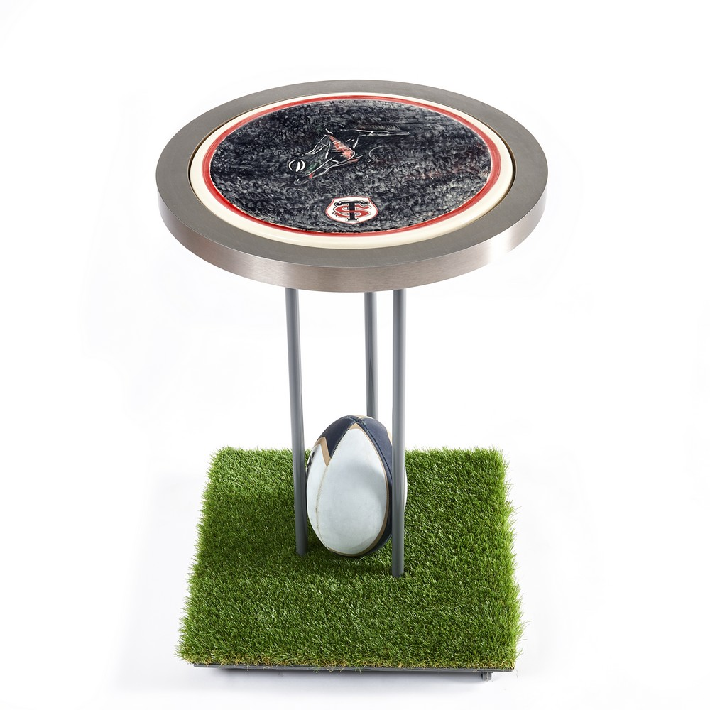 Plateau table rugby stade Toulousain