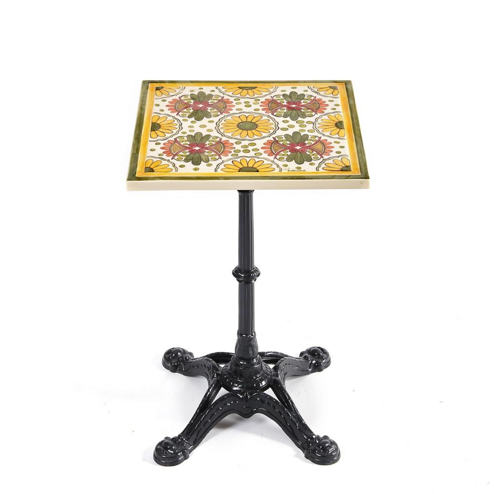 Plateau table tournesol